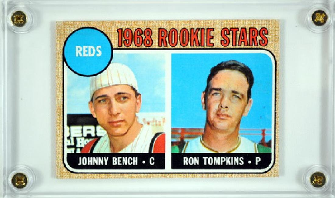 1968 Topps Johnny Bench Rookie Card