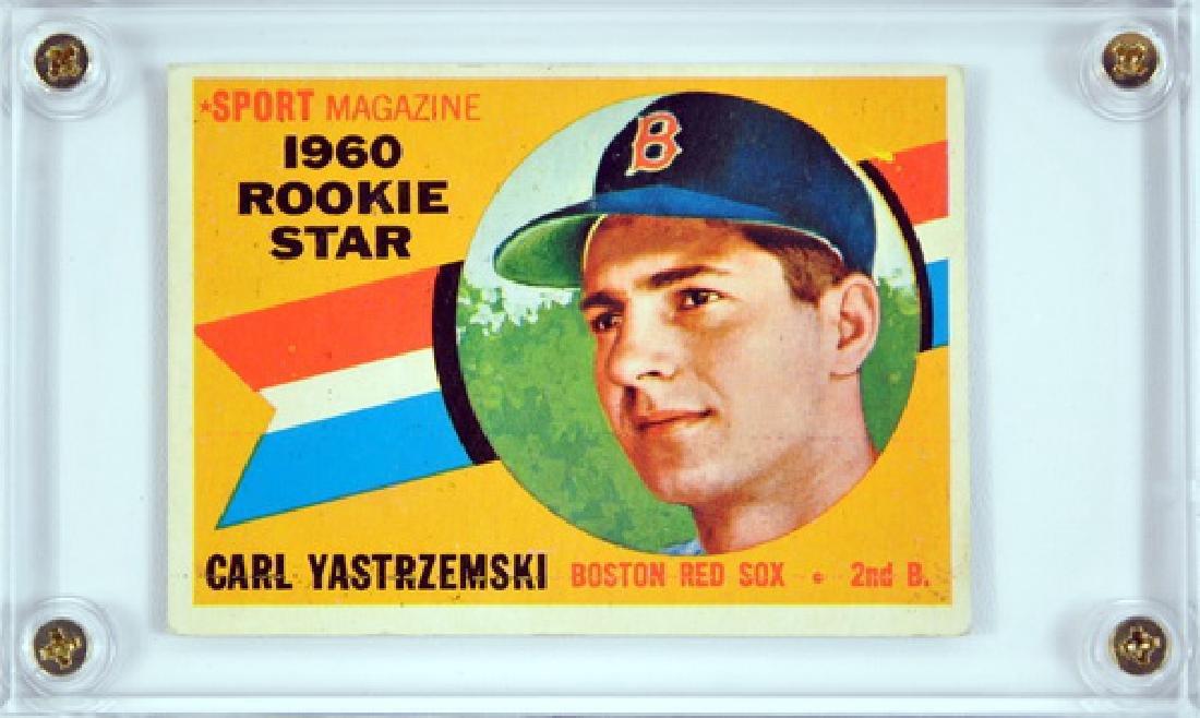 1960 Topps Carl Yastrzemski Rookie Card