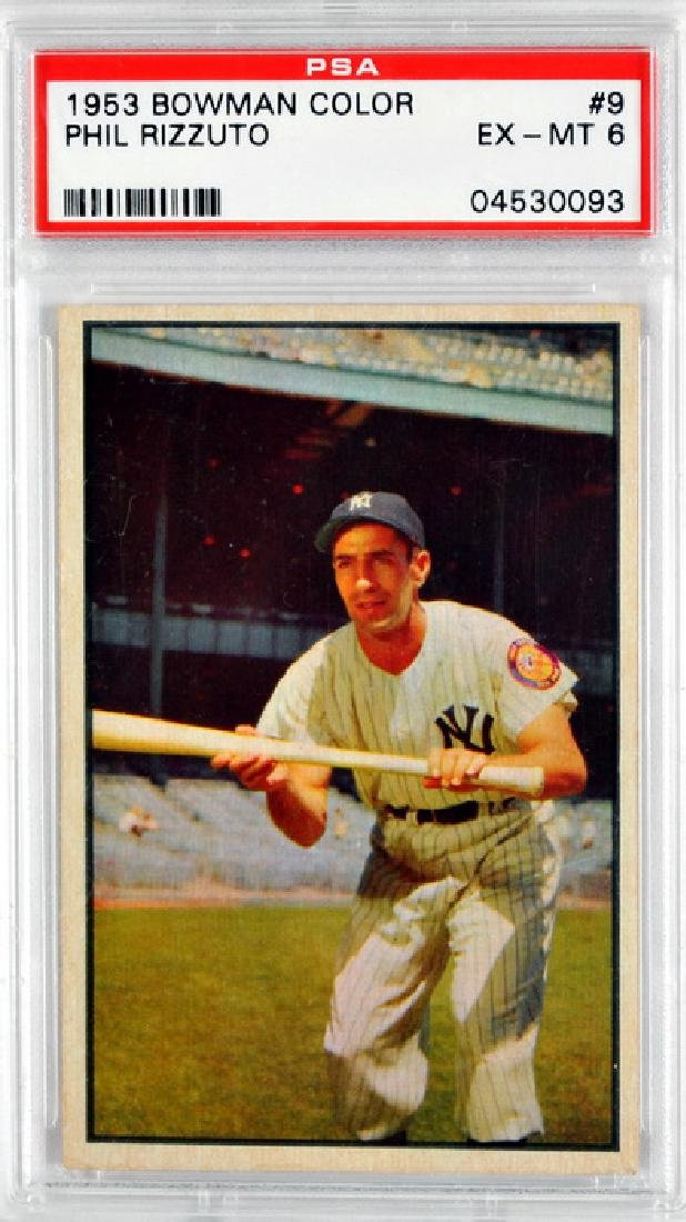 1953 Bowman Color Phil Rizzuto Psa 6