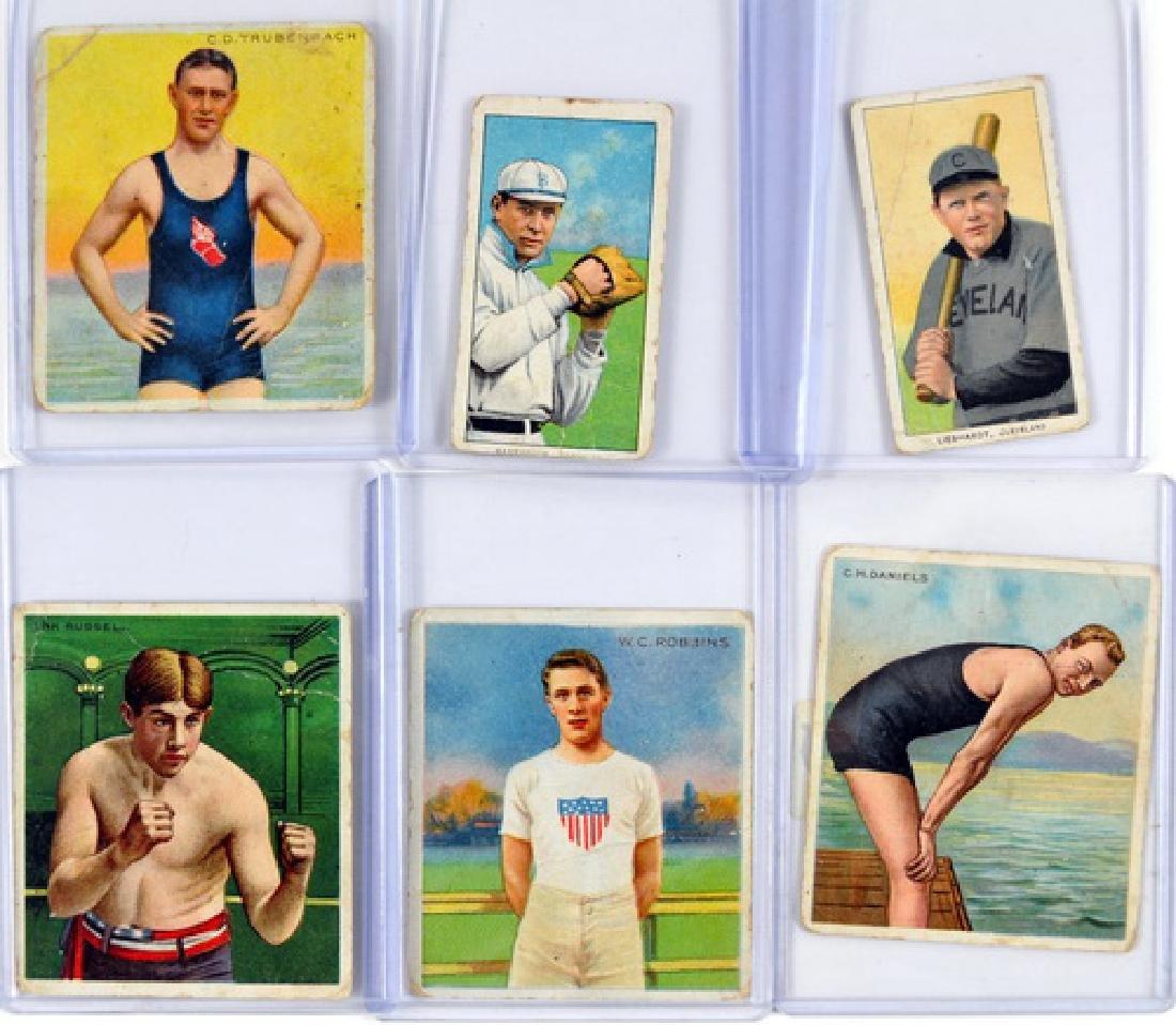 10 Early Tobacco Baseball/athletes Cards