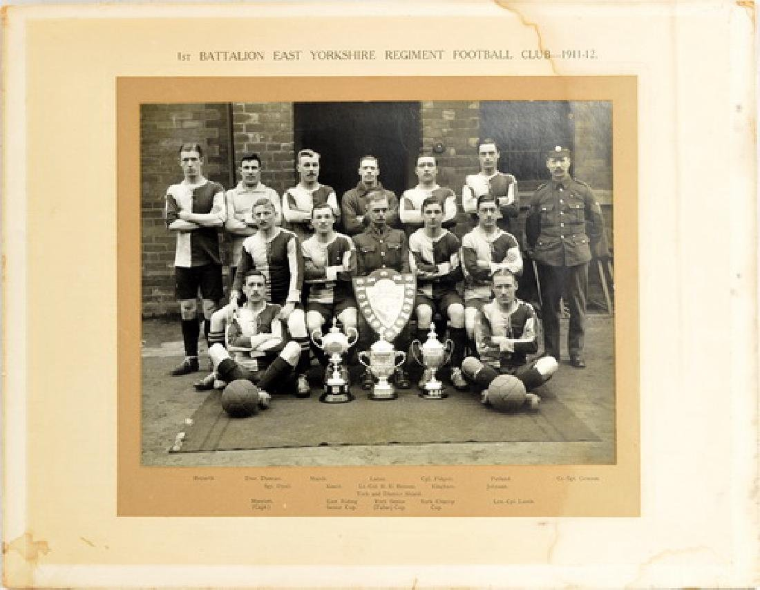 1911-12 East Yorkshire Football Club Photo