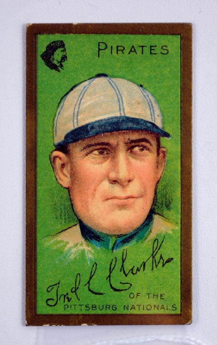 1910 T205 Fred Clark