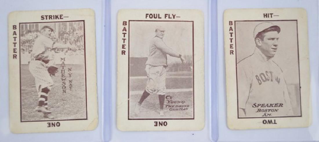 5 1913 Tom Barker Cards