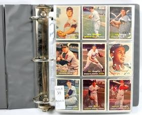 378 1957 Topps Baseball Cards in Nice Condition