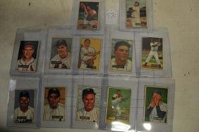 12 1951 Bowman Stars and Hall of Famers