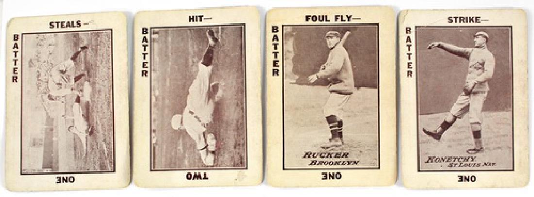 23 Different 1913 Tom Barker Baseball Cards