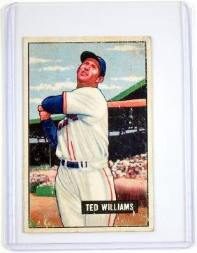 1951 Bowman Ted Williams Ungraded