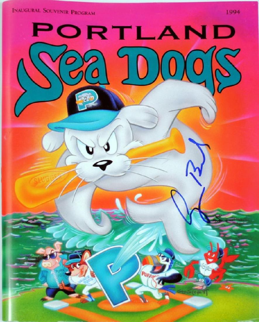 George H.w. Bush Signed Seadogs Program