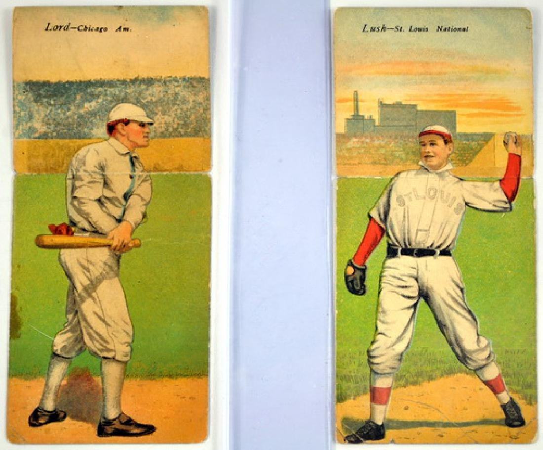 4 1910 T201 Mecca Cards