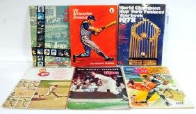 26 Baseball Year Books 1960's and 70's