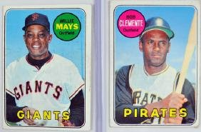 Four 1969 Topps Hall Of Famers
