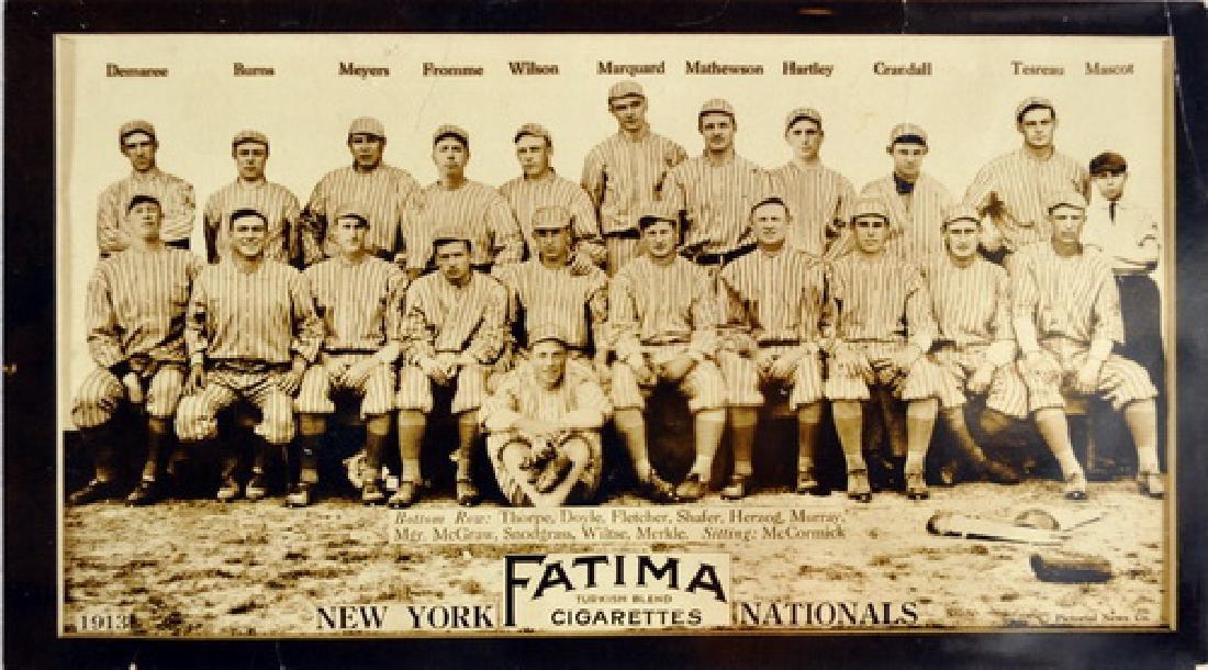 1910 Era Fatima New York Team Card