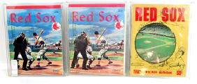 13 1960's Red Sox Year Books