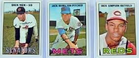 26 1967 Topps Baseball Cards