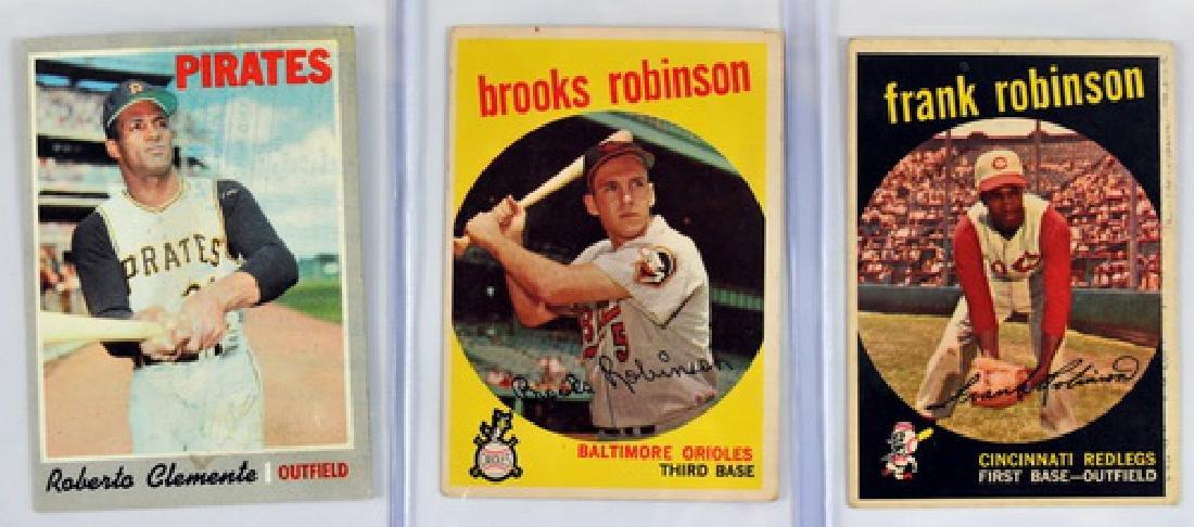 50 Baseball Cards 1957-1970