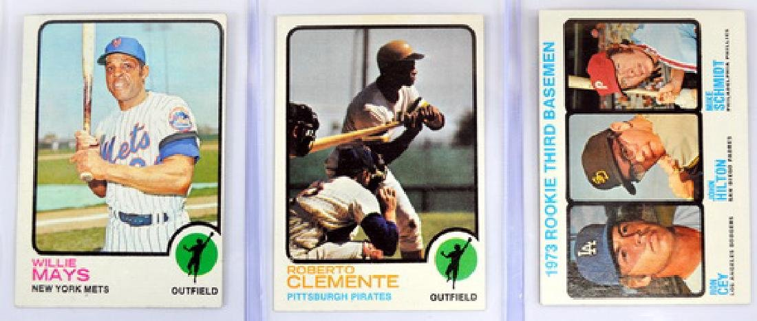 10 1973/74 Topps Baseball Stars/rookies