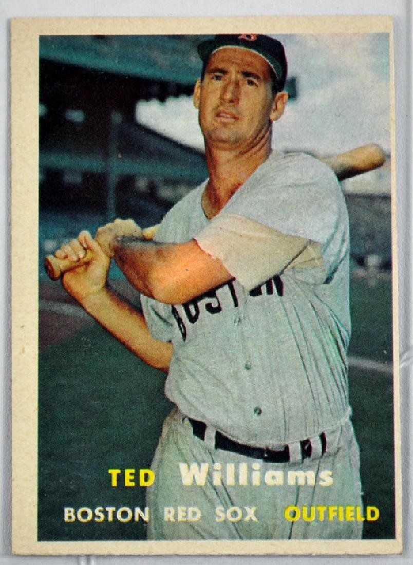 1957 Topps Ted Williams Ungraded