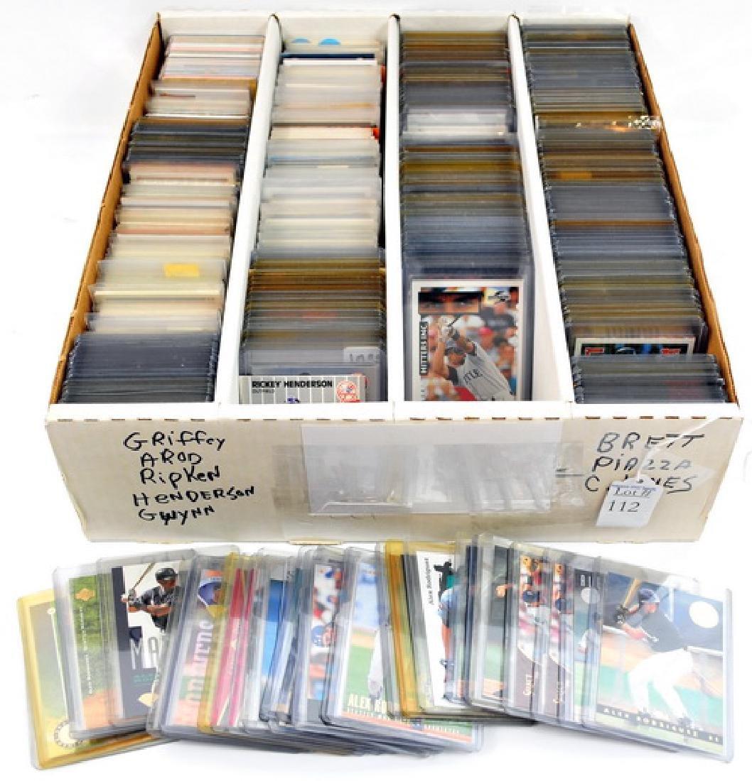 Over 1300 1980's/90's Baseball Stars
