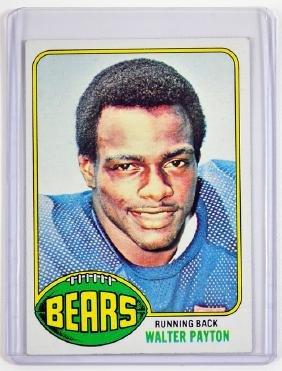 1976 Topps Walter Payton Rookie Card