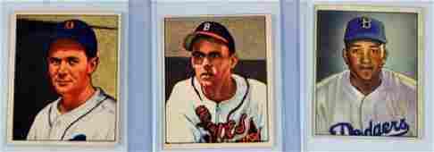 30 1950 Bowman Baseball Cards