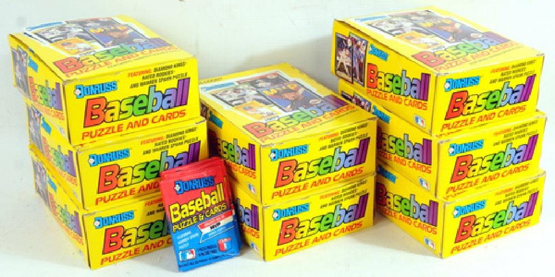 8 1989 Donruss Baseball Wax Boxes