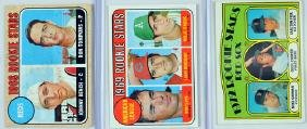 6 Vintage Topps Rookie Baseball Cards
