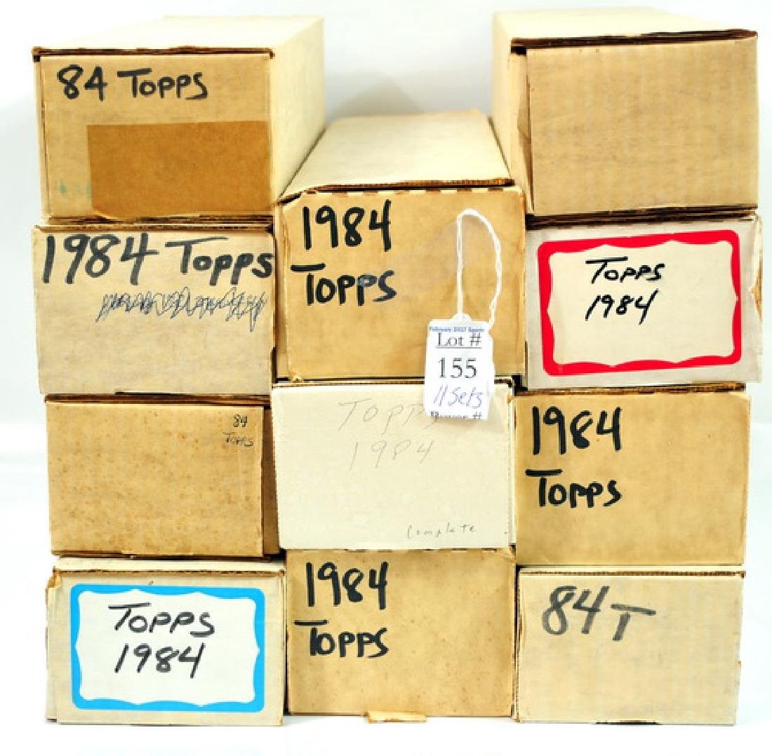 11 1984 Topps Baseball Sets