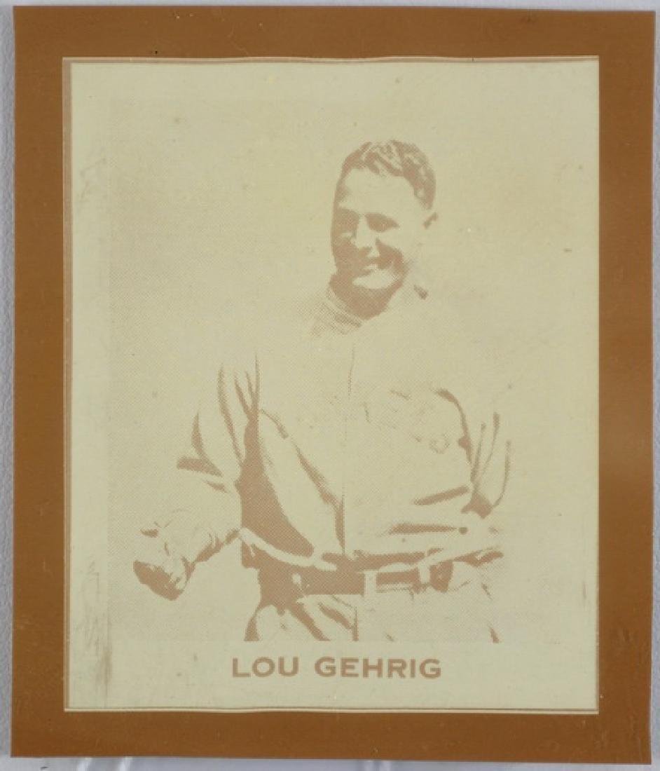 Vintage Lou Gehrig Card