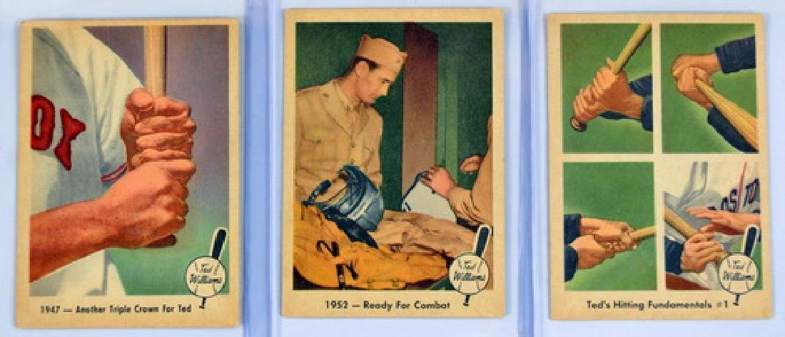 31 1959 Fleer Ted Williams Cards