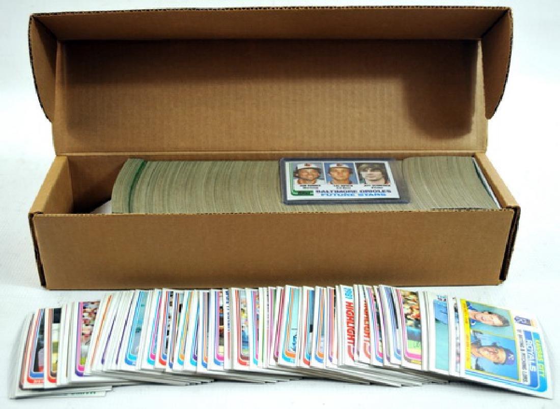 1982 Topps Baseball Complete Set
