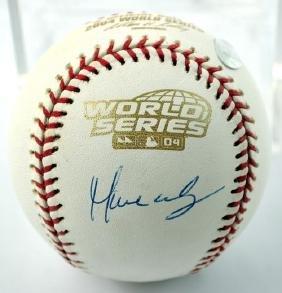 Manny Ramirez Signed Baseball