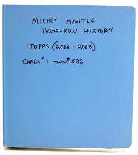Mickey Mantle Homerun History Set 2006-08