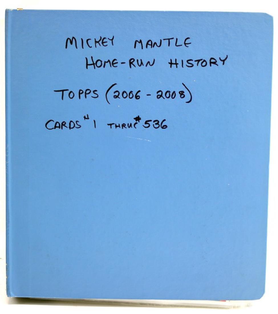 Mickey Mantle Homerun History Set 2006-08