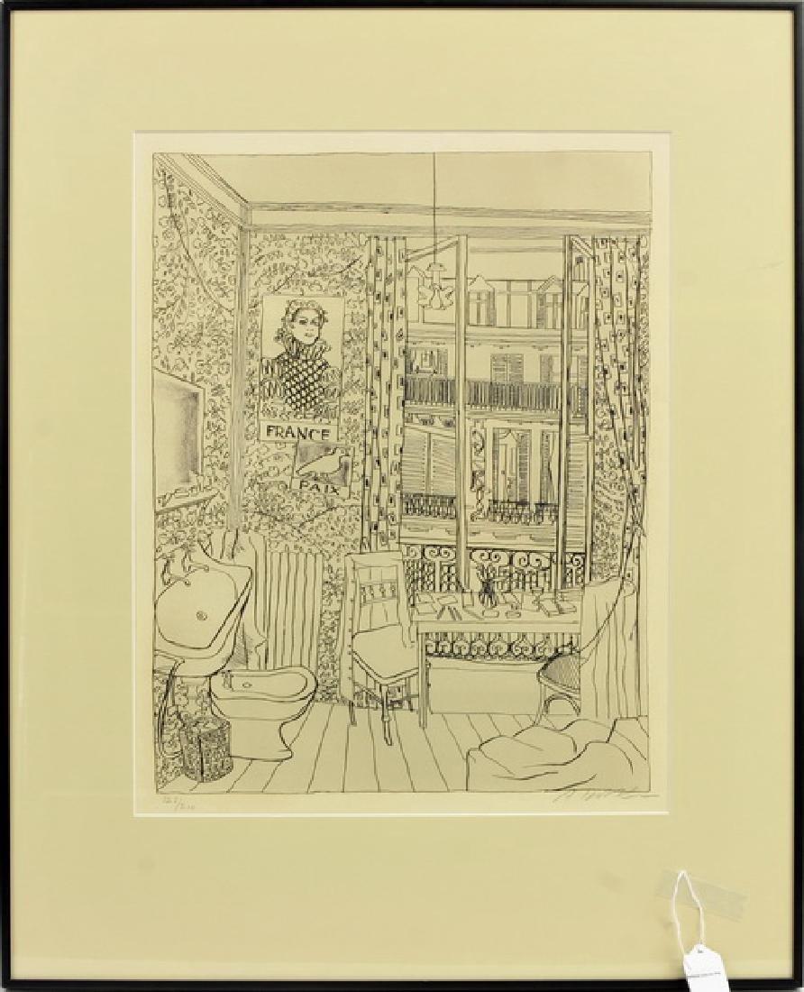 A. Dobkin Interior Print  126/200