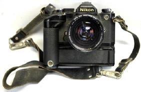Vintage Nikon Fm Camera