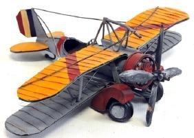 Wwii Twin Wing Plane Model