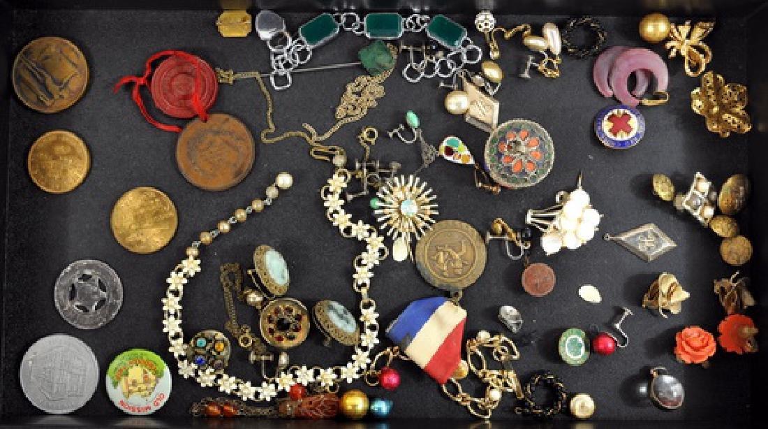 Estate Jewelry 10Kt. Gold Costume
