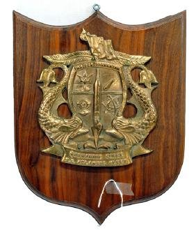 Original Brass Submarine Fleet Plaque