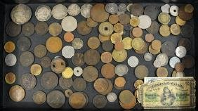 Early Foreign Coins With Silver
