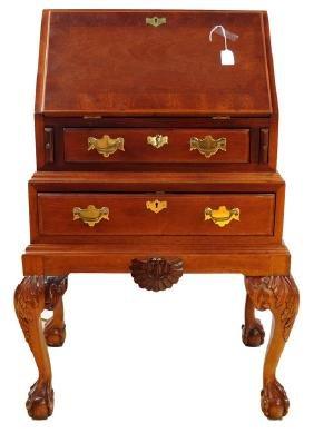 Vintage Mahogany Slant Lid Desk