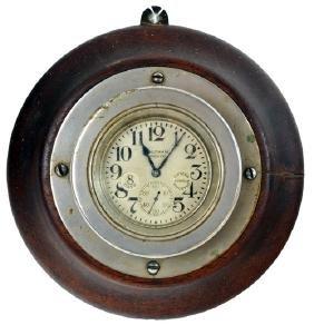 Antique Waltham 8 Day Ship Clock