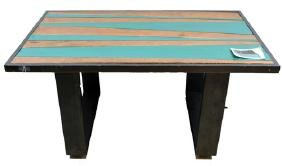 Coffee Table made by Frank Diaz Escalet