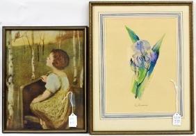 Three Vintage Prints