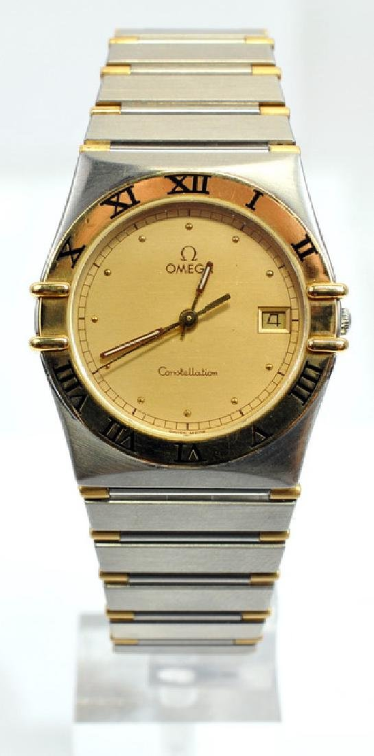 Men's Omega Constellation 18k Stainless Watch