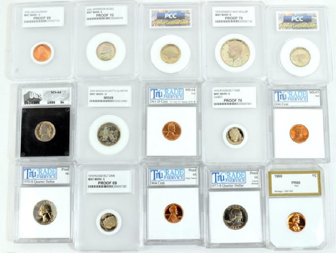 Estate Graded and Ungraded Coins
