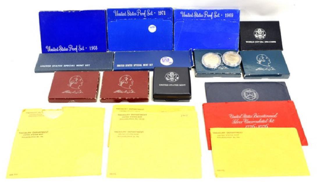 US Mint Coins/Silver Sets/Commemoratives