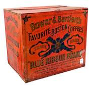 Bower And Bartlett's Counter Top Coffee Tin