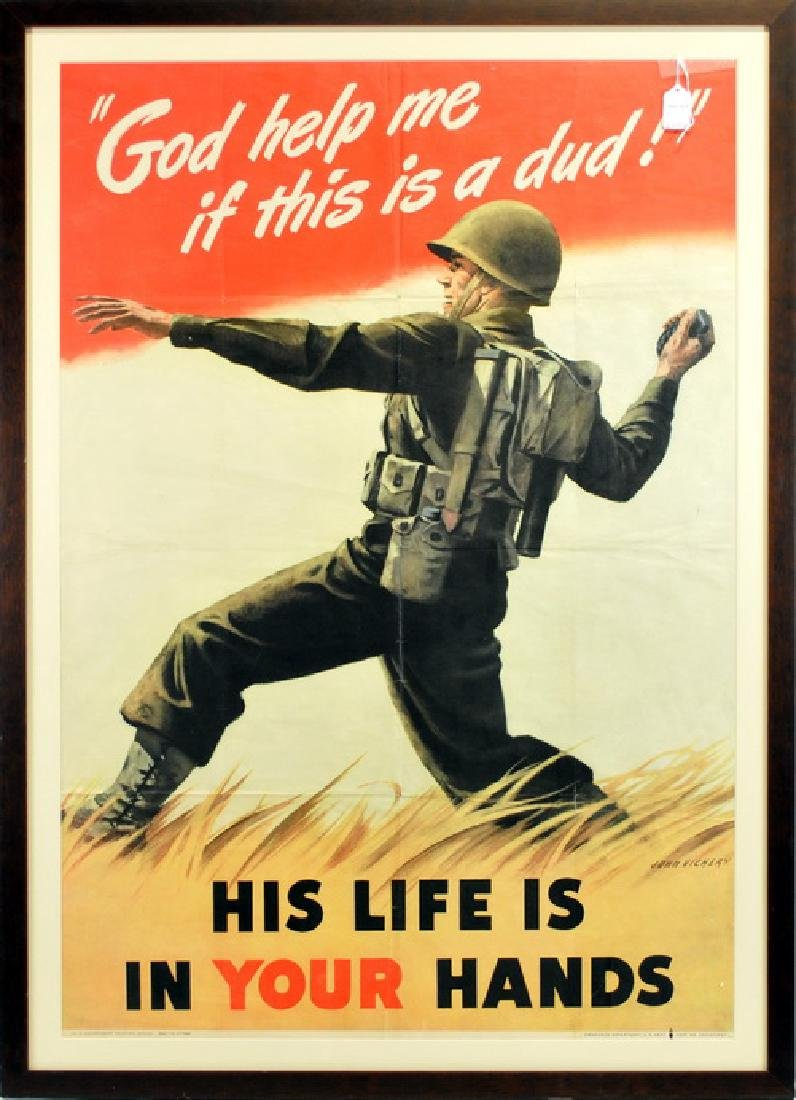 Wwii 1942 Us Patriotic Poster
