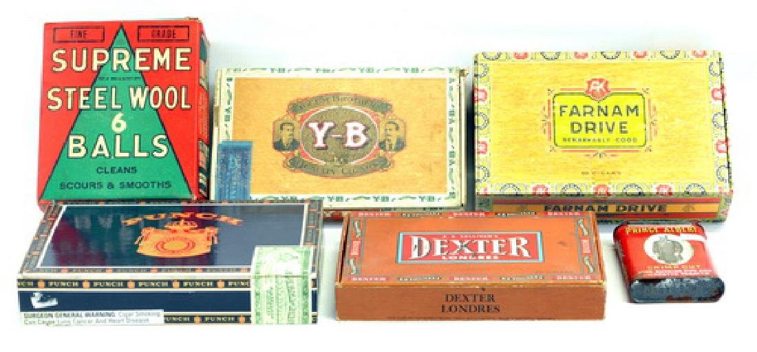 Vintage Advertising Items, Cigar Tins