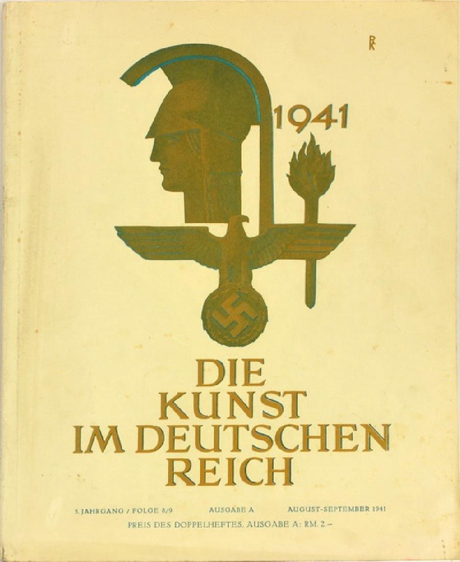 Nazi Book, Kunst In Deutschland 1941